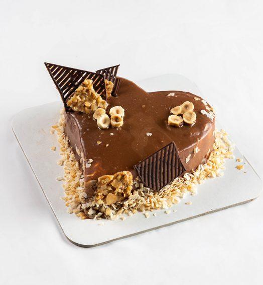 Mini torta Ferero